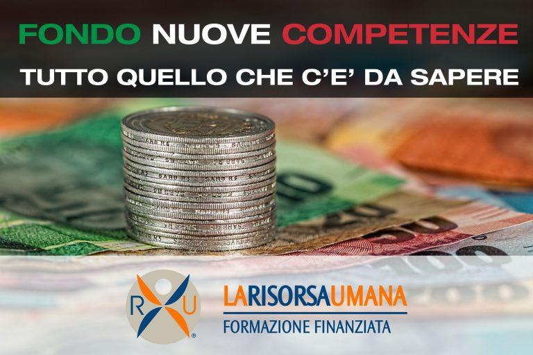 Fondo Nuove Competenze.